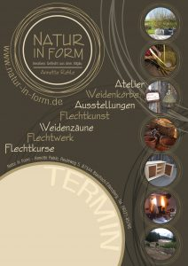 Natur in Form - Plakat